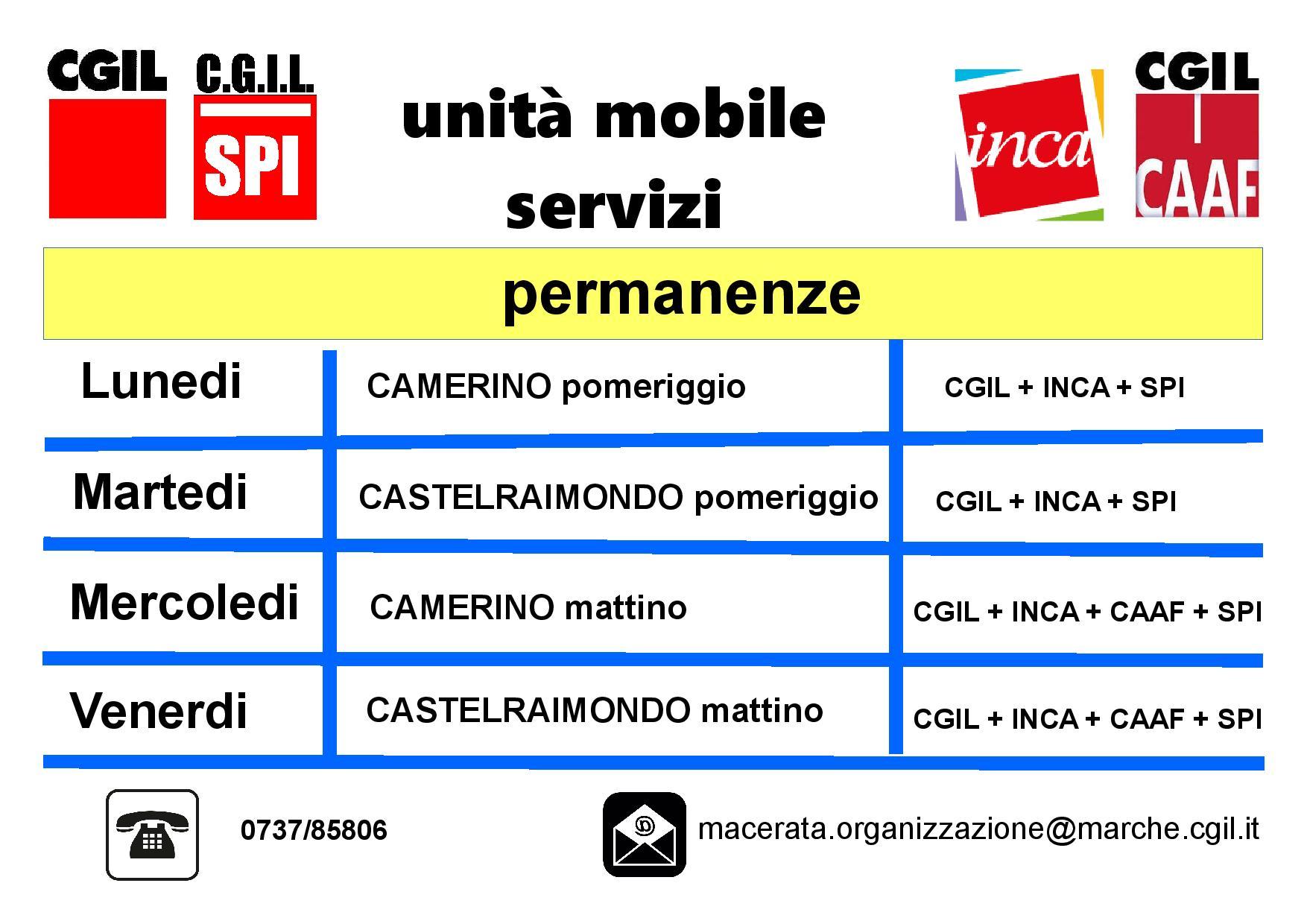 Orari Ufficio mobile