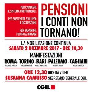Volantino manifestazione 2.12.2017