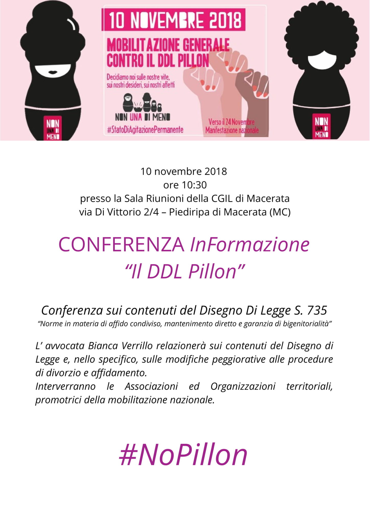locandina 2018 11 10 conferenza